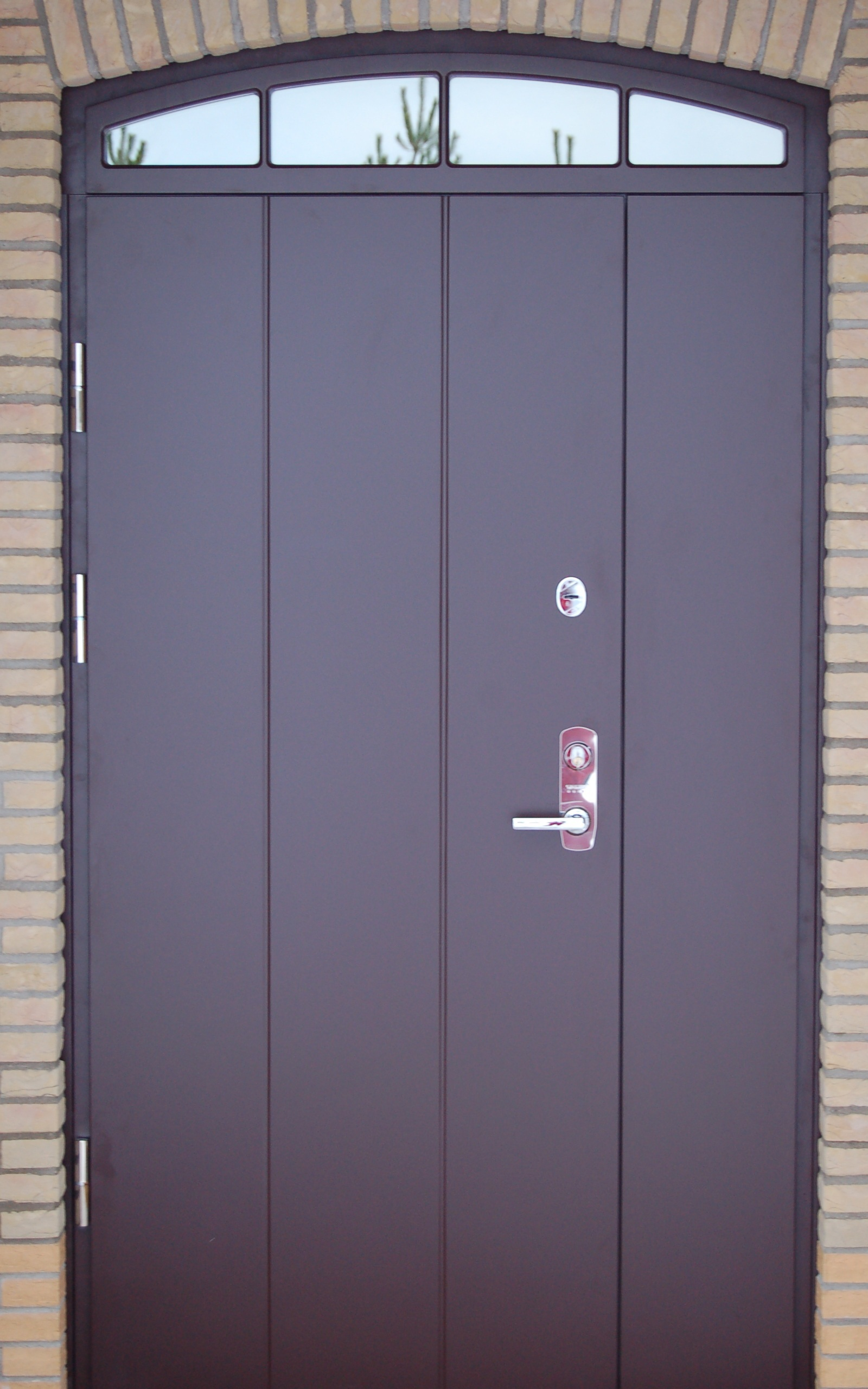 Seciro metal security doors seciro for Metal entry doors