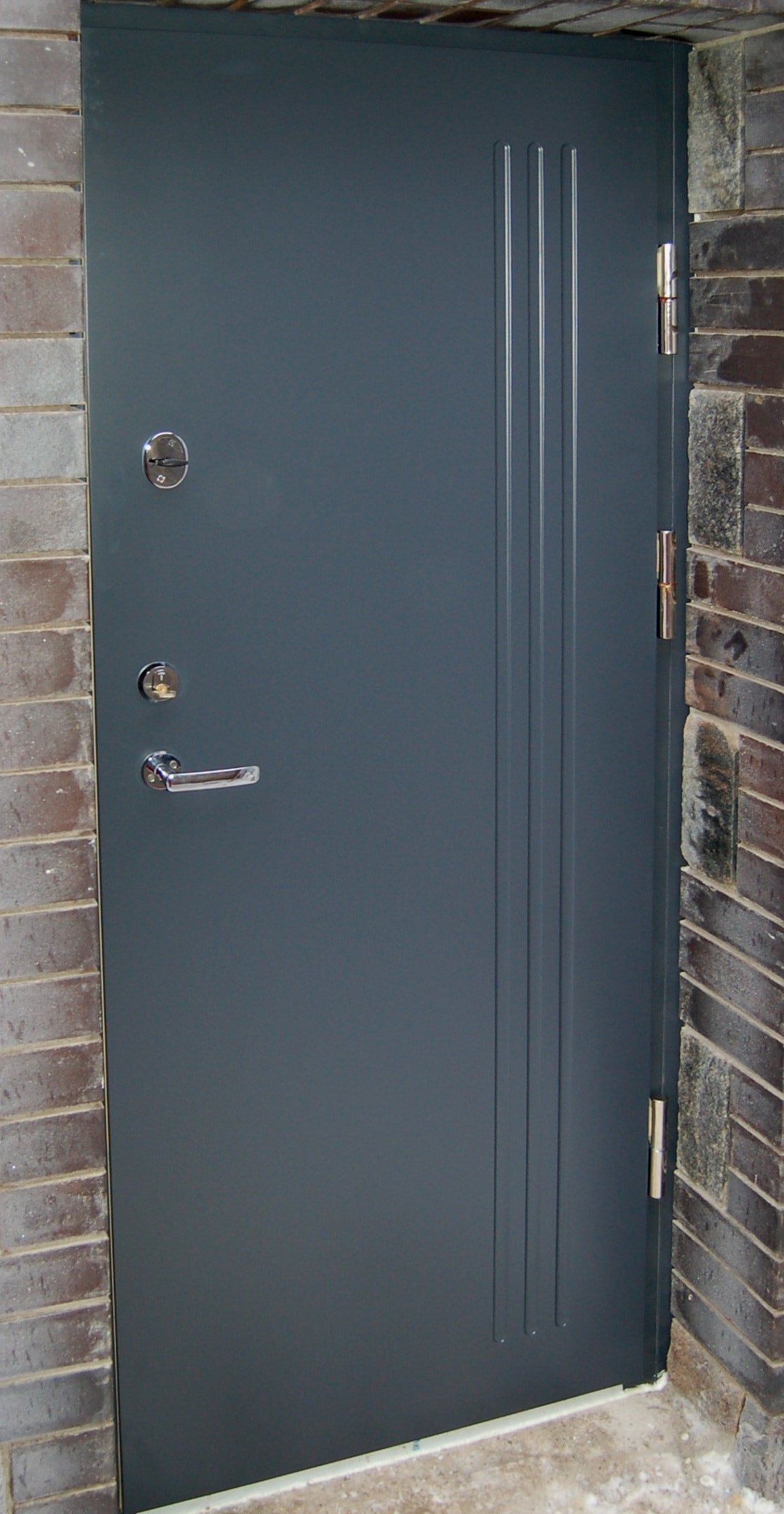 Aluminum Security Doors : Seciro metal security doors