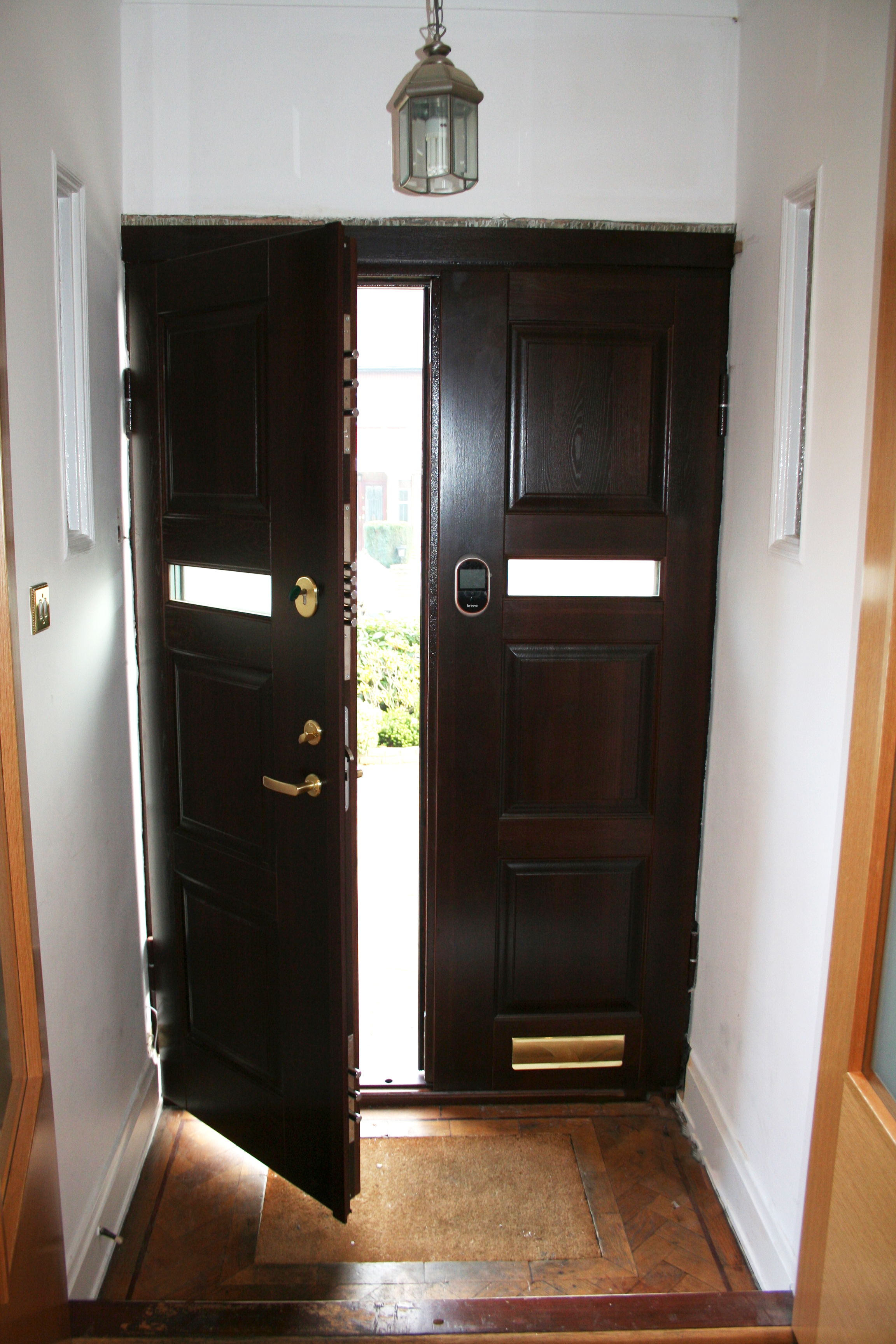 Luxurious Double Security Door Seciro