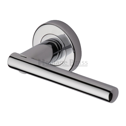 Door handle 46. Polished chrome, matt chrome